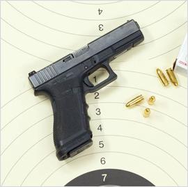 08_Pistolet Glock 17 kal- 9x19 Parabellu