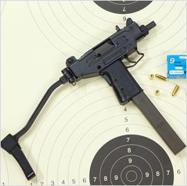 20_Pistolet Micro UZI kal- 9x19 Parabell