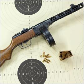 21_Pistolet PPSZ wz- 41 kal- 7,62x25 Tok