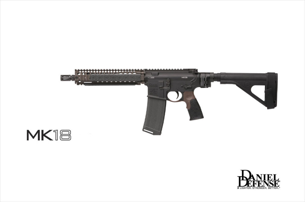 Karabinek-Daniel-Defense-DD-MK18-Law-Tactical-(składana-kolba)-01